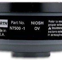 Cartucho 7500-1 vapores orgánicos - North