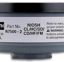 Cartucho 7500-2 gases ácidos